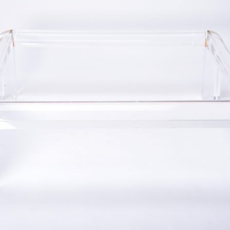 Large-vintage-lucite-and-brass-square-coffee-table