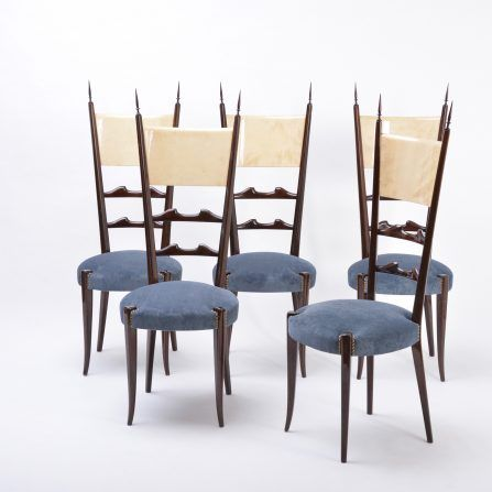 Set-of-five-Aldo-Tura-high-back-dining-chairs
