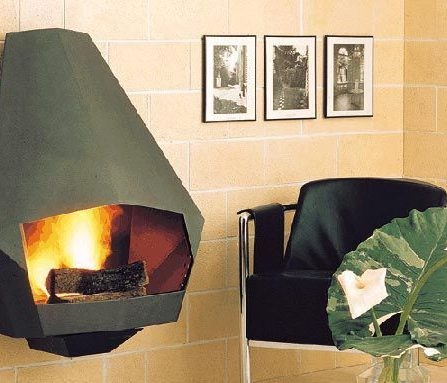 Model 5005 Mid-Century Modern Steel-Fireplace-from-Don-Bar-Design-1970s