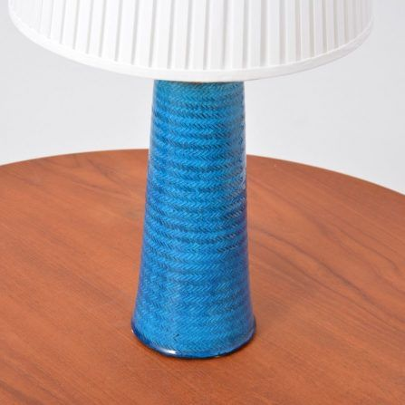 Danish-large-stoneware-table-lamp-with-turquoise-glazing-by-Nils-Kähler-1960s