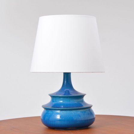 Danish-turquoise-glazed-table-lamp-by-Nils-Kähler-1960s
