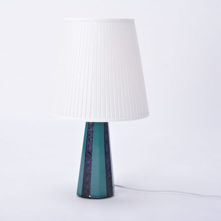Large-vintage-Danish-green-&-blue-ceramic-table-lamp-from-Søholm