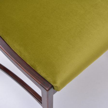 Set-of-four-reupholstered-dining-chairs-by-Ico-Parisi-model-110-in-green-velvet