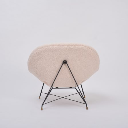 Vintage Italian Cosmos Lounge Chair by Augusto Bozzi for Saporiti